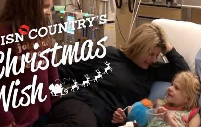CISN Country's Christmas Wish surprises Darren and his family