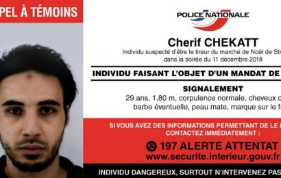 Strasbourg market terror attacker Cherif Chekatt wanted dead or alive