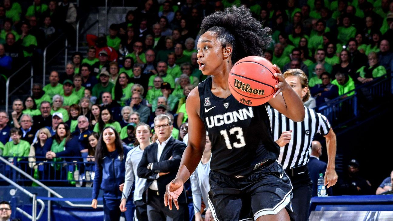 UConn upends No. 1 Notre Dame behind freshman Williams' big day