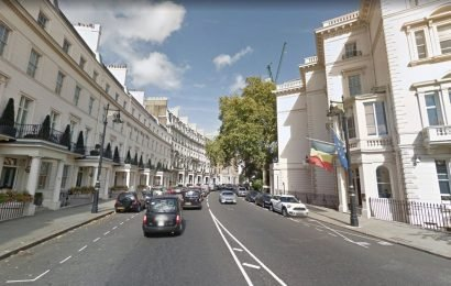 Most and least expensive UK streets revealed – as £33 MILLION home tops the list