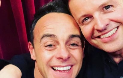 Emotional NTA win for tearful Dec as award 'confirms relief at having Ant back'