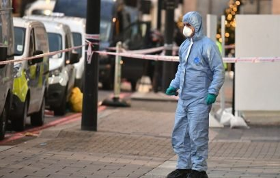 Bouncer stabbed to death and three others injured in attack outside party