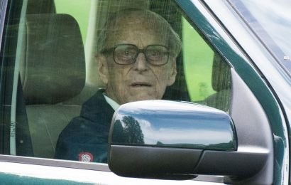 Police take action over images of Prince Philip driving without seatbelt