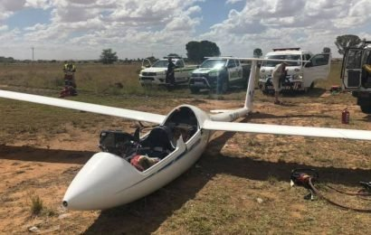 'Two Brits fighting for life' after glider crash in South Africa