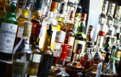 Four men accused of stealing more than $500K worth of booze