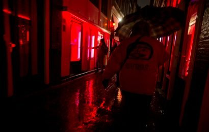 Amsterdam's red light district suffering from tourist overload