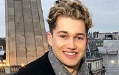 Strictly's AJ Pritchard back in training after brutal night club attack