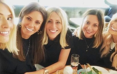 Holly Willoughby's girl gang goes on wild 12 hour bender