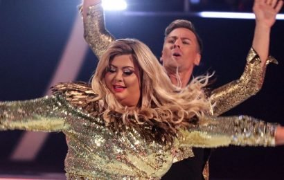 What Gemma Collins screamed as she skated off Dancing On Ice rink