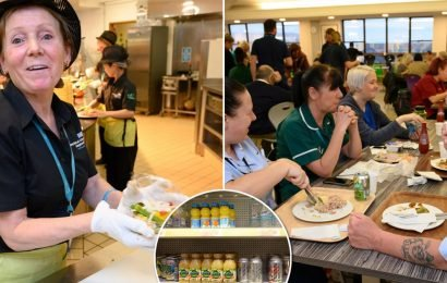 Low-calorie hospital where healthy-eating NHS staff lead battle against obesity