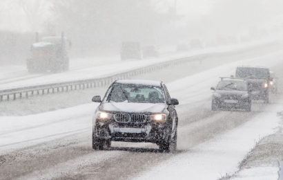 'Worst' cold snap of winter hits UK bringing heavy snow and -16C temperatures