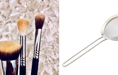 We Used a Food Strainer to Clean Our Makeup Brushes, but Did It Work?