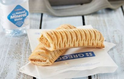 Mum told Greggs vegan sausage roll is 'too posh' to sell in her her local branch
