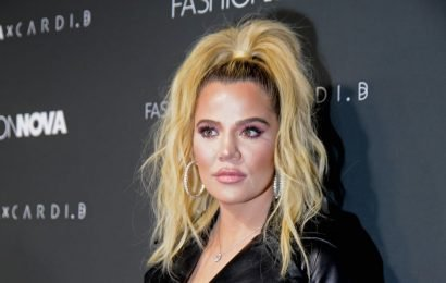 Join Us and Khloé in Fawning Over This Adorable Photo of True Becoming a Makeup-Lover