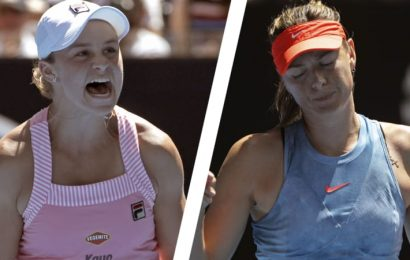 'My ears were ringing': Barty rides home support to oust Sharapova