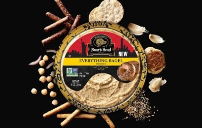 Everything Bagel Hummus Exists & The Dipping Possibilities Are Endless