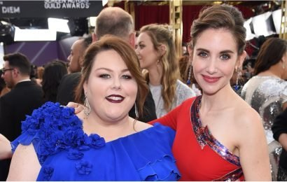 "Whoa, Did Chrissy Metz Just Call Alison Brie ""Such a B*tch"" at the Golden Globes?"