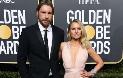 Kristen Bell & Dax Shepard's Body Language At The 2019 Golden Globes Will Surprise You