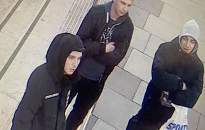 Hunt for hooded hate crime thugs who attacked gay couple in London