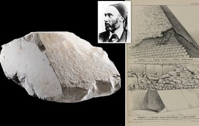 Diplomatic row over stone from Great Pyramid to go on show in Scotland