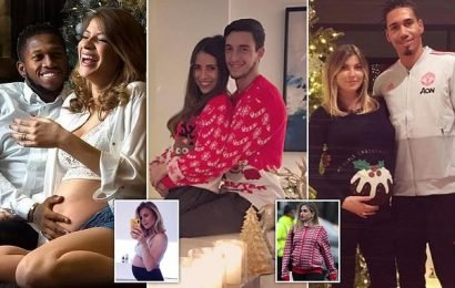 Five Man Utd players set to welcome babies with WAGS