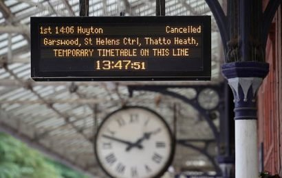More than 15,000 rail passengers a DAY win payouts for train delays