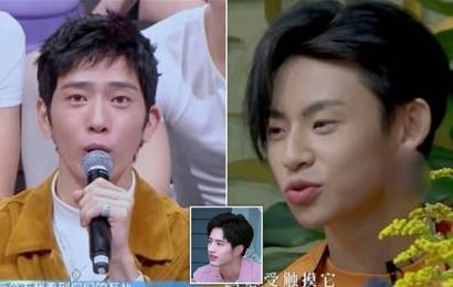 China 'ban male stars from wearing earrings on TV'