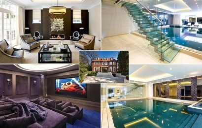 Sellers chop more than £3m off luxury eight-bed Hampstead mansion