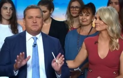 'It's appropriate I'm leaving now': Last of Today's outgoing hosts exits in tears