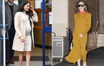 Yes you CAN wear the new sweater dress (with Spanx!)