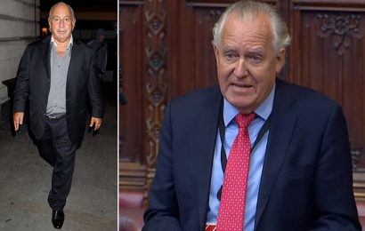 Lord Hain feels 'vindicated' for naming Sir Philip Green in Parliament