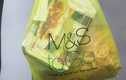 M&S launches recycling scheme by putting green bins in stores