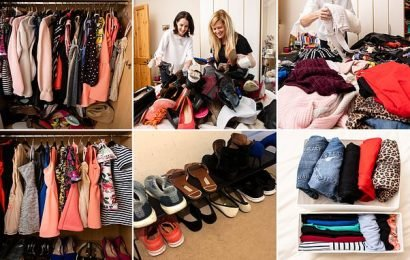 Marie Kondo expert transforms messy wardrobe to a clutter-free one