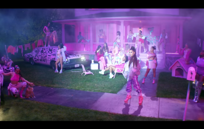 "Ariana Grande's ""7 Rings"" Video Is Here & It's A Technicolor Fantasy"