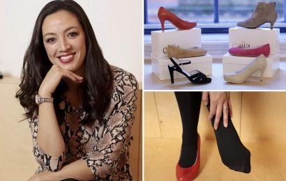 Mum-of-two turned painful bunions into £250k shoe business after getting laid off while pregnant