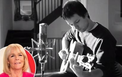 Linda Robson shares video of her son singing emotional song about depression weeks after police were called after 'meltdown' fears