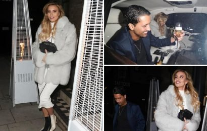 Ferne McCann leaves romantic date night with ex Liam Gatsby Blackwell after row with Adam Collard at NTA Awards