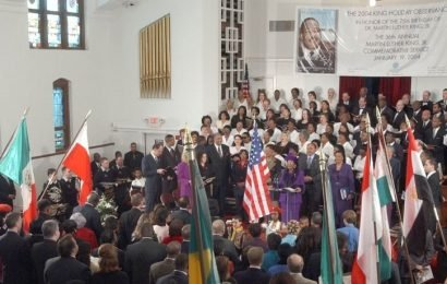 Martin Luther King, Jr's Legacy Thrives In His Hometown Church