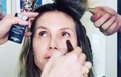 Glam Time! See the Stars Getting Primped for the GoldenGlobes
