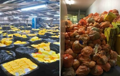 Mountains of NHS waste at firm that left hundreds of tonnes of body parts to rot as whistle blower tells of 'HUMAN HEADS in fridges'