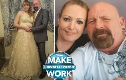 Woman whose benefits were stopped day after husband died due to Universal Credit couldn't even afford to bury him