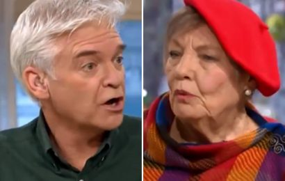 Phillip Schofield told off by sex blogger, 83, for being 'ageist' after he calls her 'young at heart'