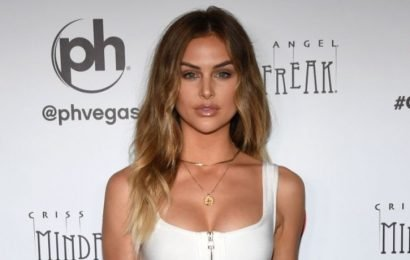 'Vanderpump Rules' Star Lala Kent Flaunts Cleavage, Toned Abs In White Sports Bra & Sweatpants