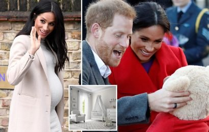 Meghan Markle's baby will have a gender-free nursery with a very modern white and grey colour scheme, royal insider reveal