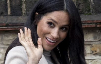 "Someone Called Meghan Markle a ""Fat Lady"" and She Wasn't Even Mad"