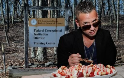 Diva Situation! 'Jersey Shore' Jailbird Mike Sorrentino Hires Inmate As Private Chef