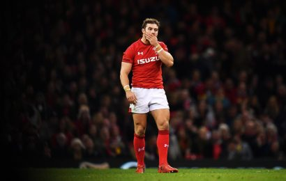 Why isn't Leigh Halfpenny playing for Wales against France in the Six Nations?