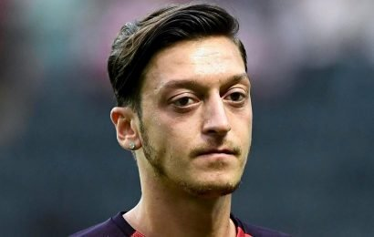 Arsenal outcast Mesut Ozil 'offered to Juventus and Inter Milan' in huge transfer shock