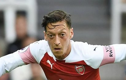 Ozil's Arsenal exile to continue as Emery rules star out of FA Cup clash with Blackpool with knee injury