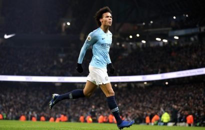 Leroy Sane hails 'special' Man City performance and warns Liverpool title chase is now on